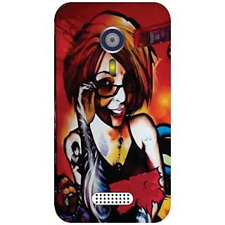 Micromax A116 Canvas HD Specked Girl