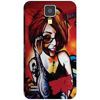 Samsung I9500 Galaxy S4 Specked Girl