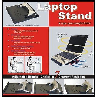 Premium extra strong durable 360 Rotate Laptop Notebook rotating Stand
