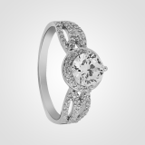 Stunning Solitaire Sterling Silver Engagement Ring 3sw15920a4