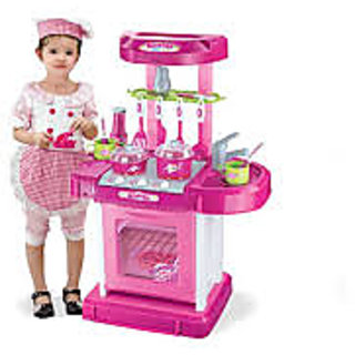 Buy Kids Kitchen Set Toy With Light And Sound Online Get 21 Off
