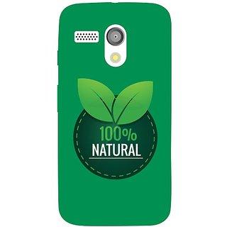 Motorola Moto G natural