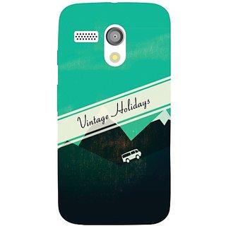 Motorola Moto G holidays