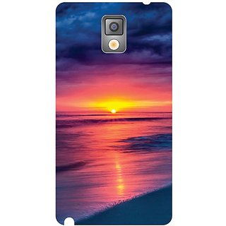Samsung Galaxy Note 3 N9000 sunset mode