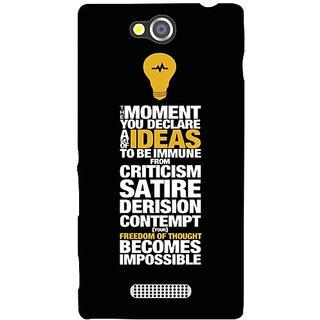 Sony Xperia C moments