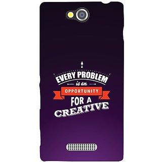 Sony Xperia C creative