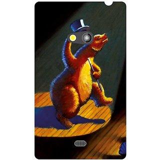 Nokia Lumia 625 Blue Print