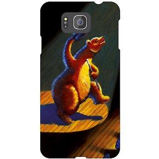 Samsung Galaxy Alpha G850 Blue Print