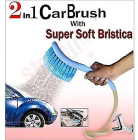 2 in1 Cleaning  Spraying Technology, Car Cleaning WASH Brush with Water Spray