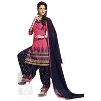 Aashvi Creation  Womens Cotton Unstitched Salwar Suit Dress Material (1072)