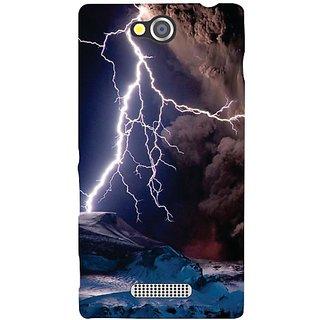 Sony Xperia C lightning
