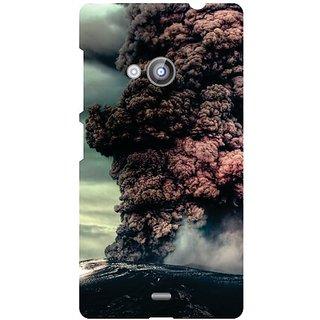 Nokia Lumia 535 on the clouds