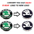 Skoda LAURA Monogram REAR + FRONT Chrome Skoda Car Monogram Logo Emblem