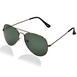 Aoito Ecstatic GunMetal Aviator Sunglasses