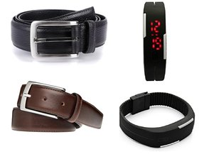DealSpecial 2 Belts  Band Wach Combo