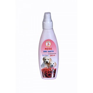 Dog Care Rose Dry Bath