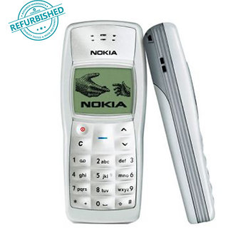 Nokia 1100  /Acceptable Condition/Certified Pre Owned(6 Months Gadgetwood Warranty)