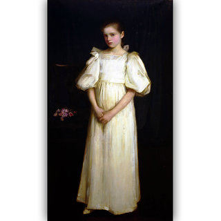 Vitalwalls Portrait Painting Canvas Art Print.Western-471-30cm