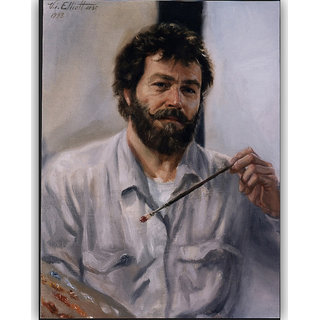 Vitalwalls Portrait Painting Canvas Art Print,on Wooden FrameWestern-472-F-60cm