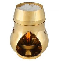 Odishabazar Brass Aroma Incense Burner Camphor Lamp Aroma Lamp Oil Burner Oil Di