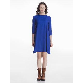 Blue Short Shift Dress