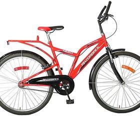 Hero Red Razorback NE 24T Adult Mountain Bicycle