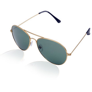 Aoito Classic Golden Aviator Sunglasses.