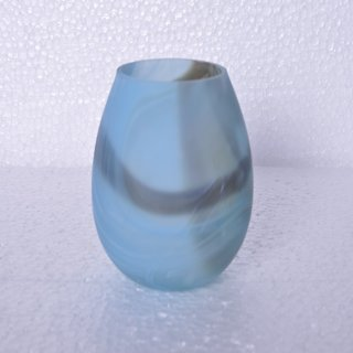 AnasaDecor Light Blue Shade Votive