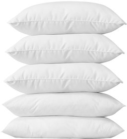 Geo Nature Soft Touch White 5 Pillow  (PIL087)
