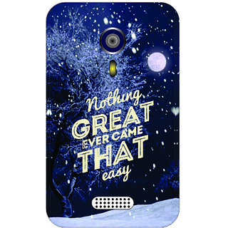 Back Cover For Micromax A 116 -3812