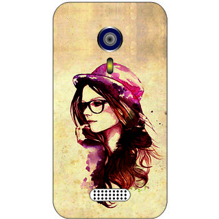 Back Cover For Micromax A 116 -4351