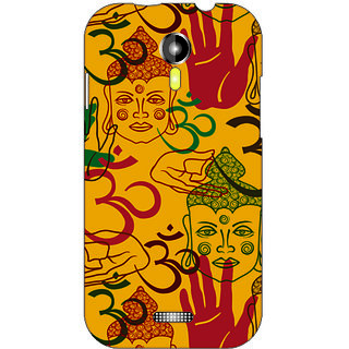 Back Cover For Micromax A117 -3925