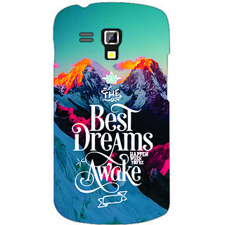 Back Cover For Samsung Galaxy S Duos 7562 -3497