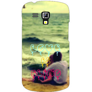 Back Cover For Samsung Galaxy S Duos 7562 -3498