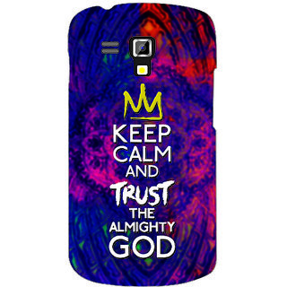 Back Cover For Samsung Galaxy S Duos 7562 -4605