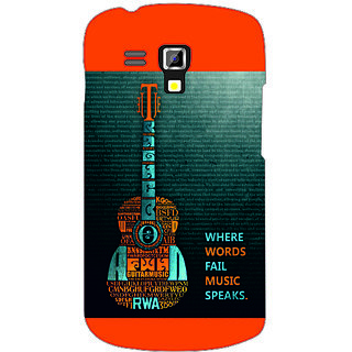 Back Cover For Samsung Galaxy S Duos 7562 -4675