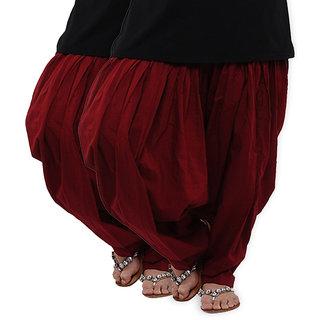 BrandTrendz Splendid Set of 2 Cotton Patiyala Salwar