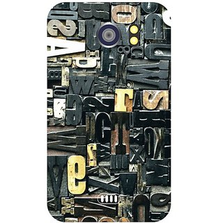 Back Cover For Micromax Canvas 2 A 110 -9010