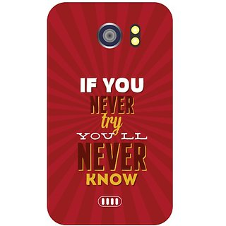 Back Cover For Micromax Canvas 2 A 110 -9001