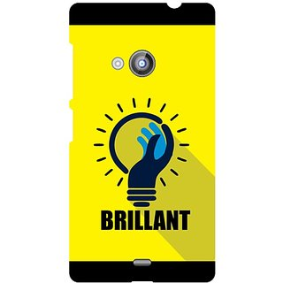 Back Cover For Nokia Lumia 535 -8981