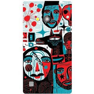 Back Cover For Nokia Lumia 720 -9008