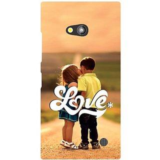 Back Cover For Nokia Lumia 730 -8949