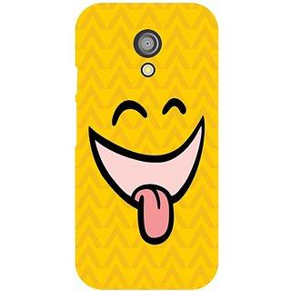 Back Cover For Motorola Moto G (2nd Gen) -8976