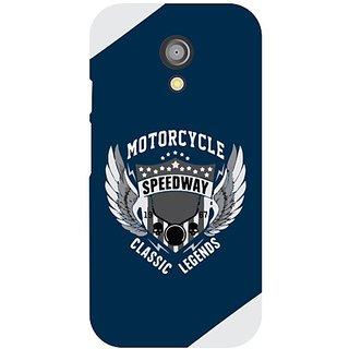 Back Cover For Motorola Moto G (2nd Gen) -9004
