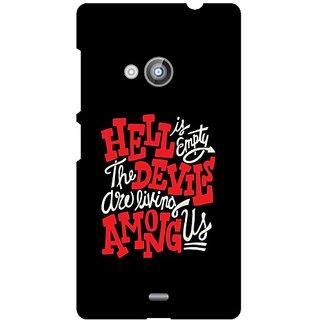 Back Cover For Nokia Lumia 535 -9197