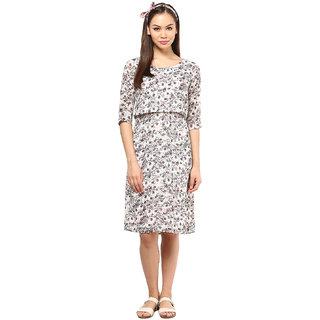 Floral Printed Midi Dress