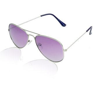 Aoito Chic Purple Aviator Sunglasses.