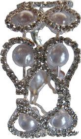 Akshat Designer Adjustable kada with Amrican Diamonds