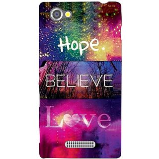 Back Cover For Sony Xperia M -12530