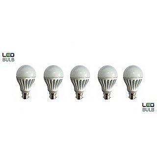 Combo of led bulb 5W (set of 5)
